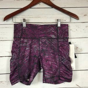 Lululemon Seawheeze Speed Track Shorts, Size 4